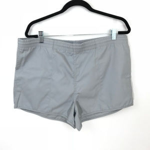 Woolrich Men Vintage Grey Swim Shorts 80's Large